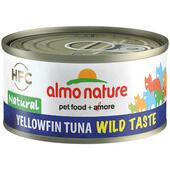 24 x Almo Nature HFC Wild Taste Natural - Yellowfin Tuna 70g