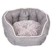 Dream Paws Cosy Dog Bed Small/Medium Grey