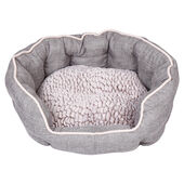 Dream Paws Cosy Dog Bed Medium/Large Grey