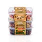 3 x Nature's Feast Small Animal Natural Snack Pots 175g