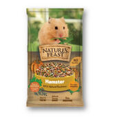 4 x Nature's Feast Hamster Nugget Fruit & Veg Mix 675g