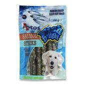 10 x Antos Fish D\'light Salmon Sticks 100g