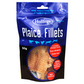 8 x Hollings Plaice Fillets 50g