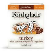 18 x F'glade Comp Puppy Turkey Butternut Squash & Veg Grain Free 395g