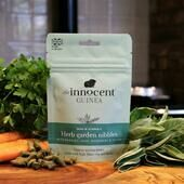 10 x The Innocent Guinea Herb Nibbles With Parsley Sage Rose & Thyme 60g