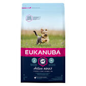 Eukanuba Active Adult Toy Breed Dog Food with Chicken 2kg