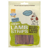 10 x Good Boy Pawsley & Co Chewy Lamb Strips Dog Treats 80g