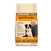 Paul O'Grady Hypoallergenic Turkey & Rice Dog Food
