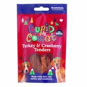 Cupid & Comet Turkey & Cranberry Tenders For Dogs 90g