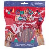 Cupid & Comet Turkey Treats Bumper Selection Pack For Dogs 300g