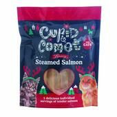 Cupid & Comet Luxury Steamed Salmon Tenders For Cats 5 Treats