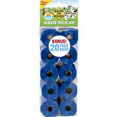 140 Bags On Board Poop Bags - Refill Rolls Blue