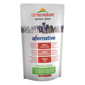 5 x Almo Nature Alternative Dry Dog Food - Lamb and Rice 750g