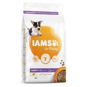 Iams Vitality Puppy Small & Medium Dog Food With Fresh Chicken 2kg