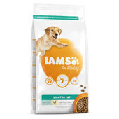 Iams Vitality Light in Fat Dog Food with Fresh Chicken 2kg