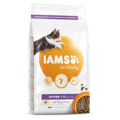 Iams Vitality Kitten Food With Fresh Chicken