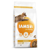Iams Vitality Hairball Cat Food With Fresh Chicken