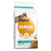 Iams Vitality Light In Fat Sterilised Cat Food With Fresh Chicken