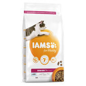 Iams Vitality Senior Cat Food With Ocean Fish