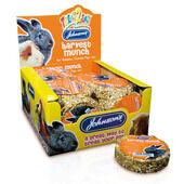 18 x Johnson's Rabbit & Guinea Pig Harvest Munch 70g