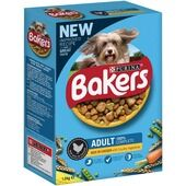 Bakers Adult Dog Food Rich in Chicken with Country Vegetables