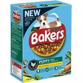Bakers Puppy Dog Food Rich in Chicken with Country Vegetables