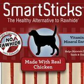 14 x Smartsticks Chicken Dog Treats in a Pack of 5