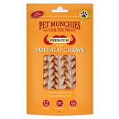 8 x Pet Munchies Small Buffalo Dental Chews 55g