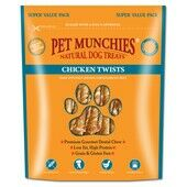3 x Pet Munchies Chicken Twists Dog Chews 290g