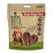 6 x Rosewood Natural Eats Duck Fillets Value Pack Dog Treats 320g