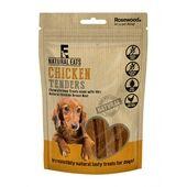 12 x Rosewood Natural Eats Chicken Tender Strips Dog Treats 80g