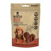 12 x Rosewood Natural Eats Beef Tender Strips Dog Treats 80g
