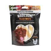 12 x Rosewood Magic Bone Magic Twists 6 Piece Dog Treats 195g