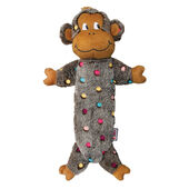 Kong Low Stuff Speckles Monkey Large Dog Toy