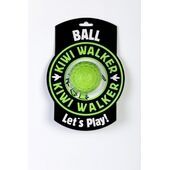 Kiwi Walker Let's Play! Rubber Foam Dog Ball in Lime