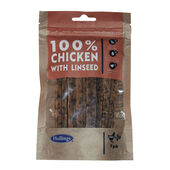 10 x Hollings Chicken & Linseed Bars for Dogs - 7 in a Pack