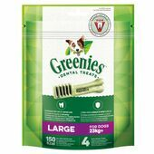 6 x Greenies Original Large Dog Dental Treats 170g