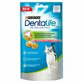 8 x Dentalife Salmon Cat Treats 40g