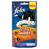 8 x Felix Play Tubes Chicken & Liver 50g
