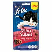 8 x Felix Play Tubes Turkey & Ham 50g