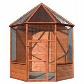 Goodspeed Flat Pack Abbey Aviary 244x244cm (96x96