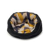 "Danish Design Retreat Eco-Wellness Geo Tile Slumber Dog Bed 40"" Large"
