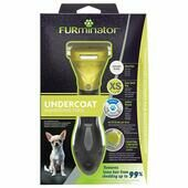 Furminator Undercoat Deshedding Tool For Extra Small Short Haired Dog