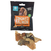 Purely Fish Smoked Salmon Crisps For Dogs 20g
