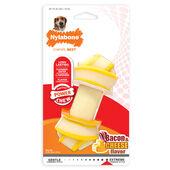 Nylabone Rawhide Alternative Knot Bone Bacon & Cheese Dog Chew
