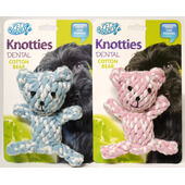 Knotties Cotton Dog Teddy Bear