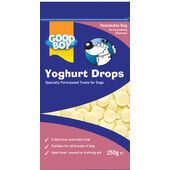 8 x Good Boy Yoghurt Drops Pouch 250g