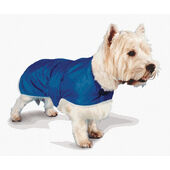 Pennine Waterproof Fur Lined Coat Blue