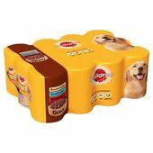 Pedigree Chicken, Lamb & Beef In Gravy Wet Dog Food - Variety Pack