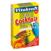 12 x Vitakraft Budgie Fruit Cocktail 200g